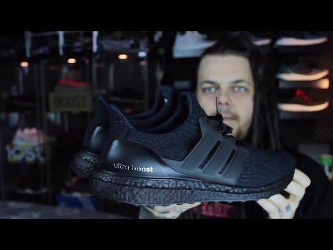 4e221f828521c adidas triple black ultraboost 3 0 custom   how to
