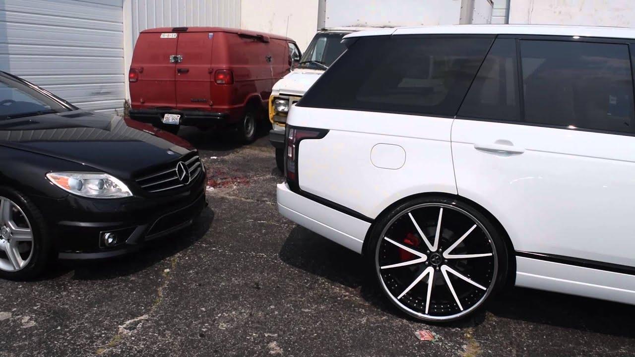 Range Rover Hse On 26 Quot Velllano Wheels 2015 Stunna Jam