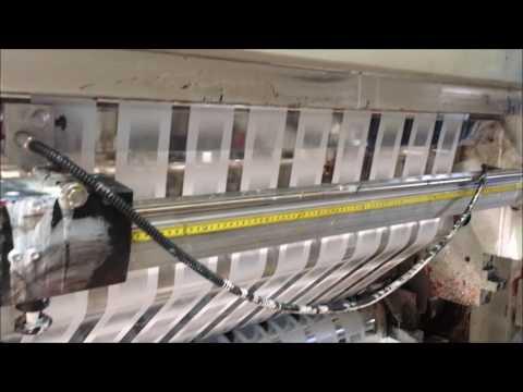 Video G16013 - Cerutti rotogravure printing press