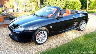 Video Review of 2004 MG TF160 Convertible For Sale SDSC Specialist Cars Cambridge UK