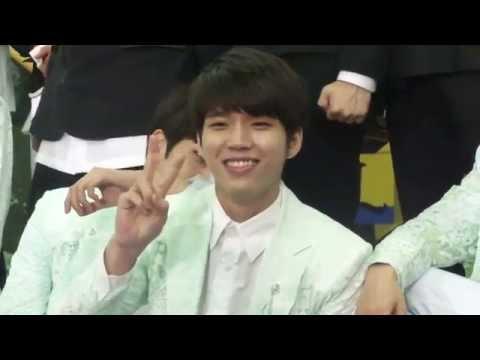 [INFINI7Ebr] 140606 KBS Music Bank in Brazil (Press Conference) - INFINITE Woohyun Focus
