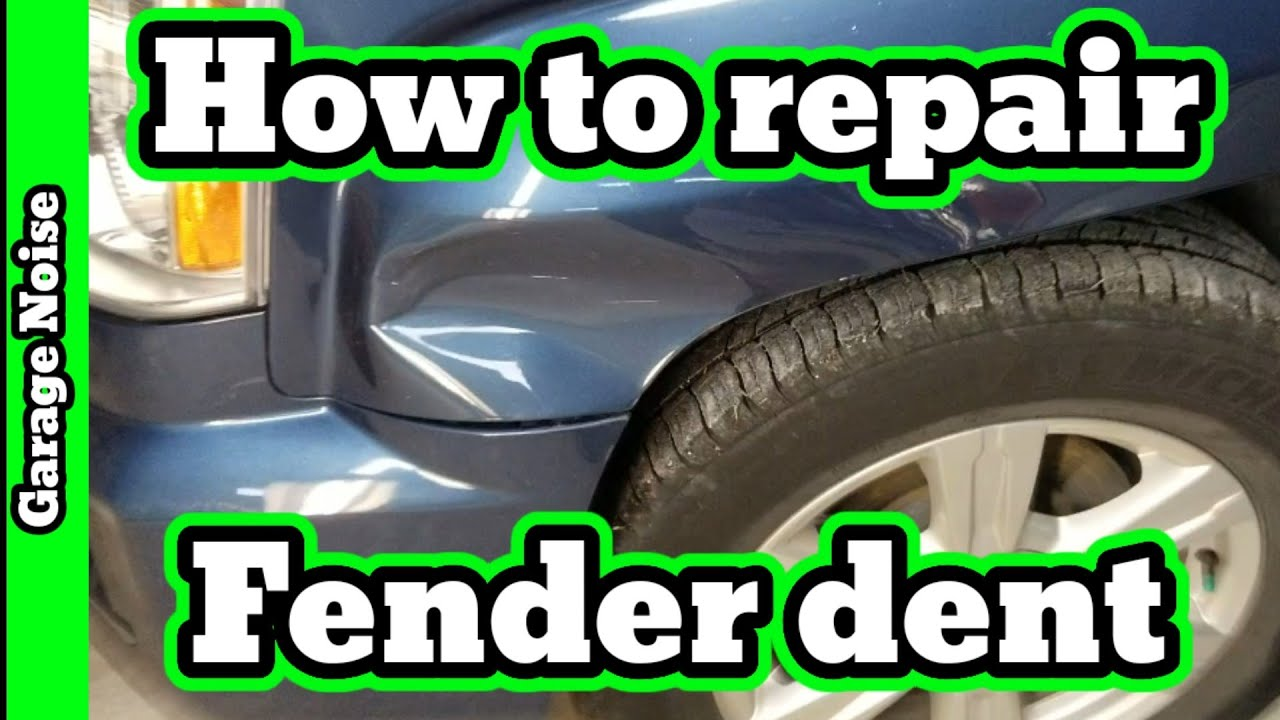 How To Repair A Dent Step By Step Daily Vlog Episode 11 Diy Autobody Collision Repair