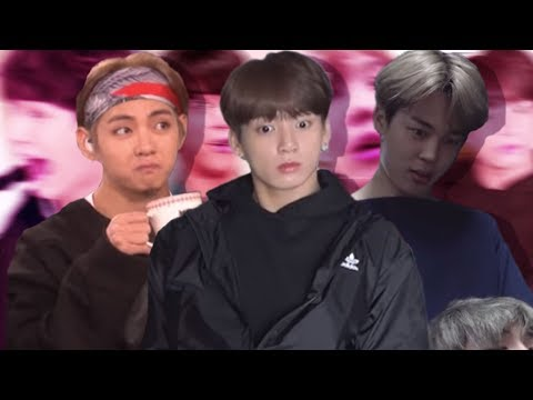 BTS being a mood