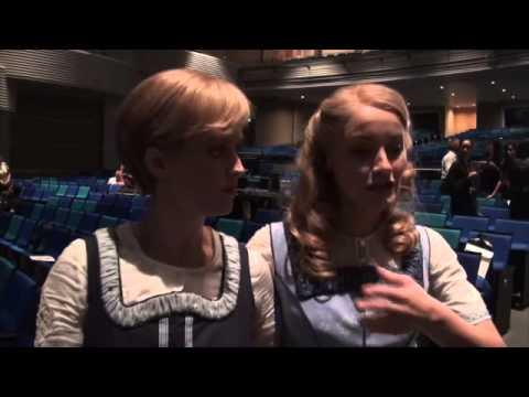 Hawk Liu Interviews Bethany Dickson,Carmen Pretorius Maria,Liesl The Sound of Music 2014 07 11