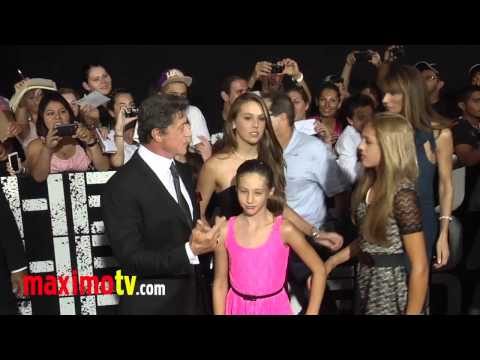 "Sylvester Stallone at ""The Expendables 2"" Los Angeles Premiere ARRIVALS"