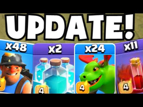 Clash of Clans FULL UPDATE REVIEW GAMEPLAY | New Troops/Best Armies/All Hidden Bonus Features/Bugs