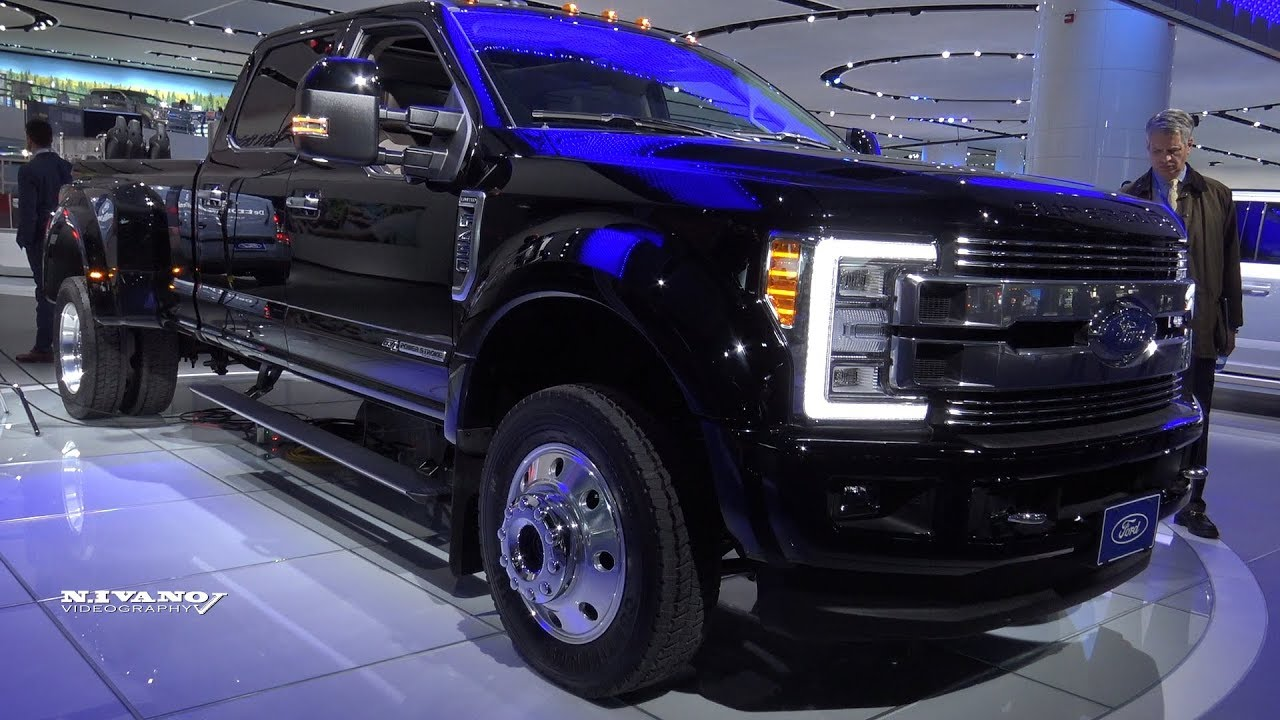 2018 Ford Super Duty F 450 Limited Exterior And Interior