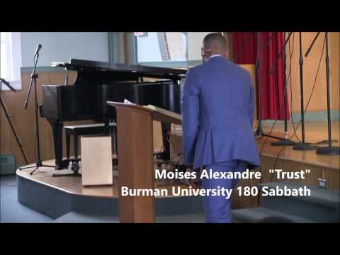 "Moises Alexandre  sermon ""Trust"""