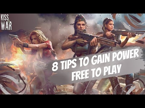 8 Tips to Gain Power Free to Play (F2P) in Kiss of War
