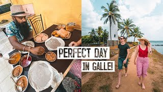 We Ate Sri Lankan Breakfast WITH A LOCAL! + Exploring Galle Fort ??
