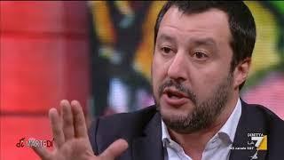 Matteo Salvini (Lega): 'Mi dia due settimane di Ministero dell'Interno e ne espello 100 al giorno'
