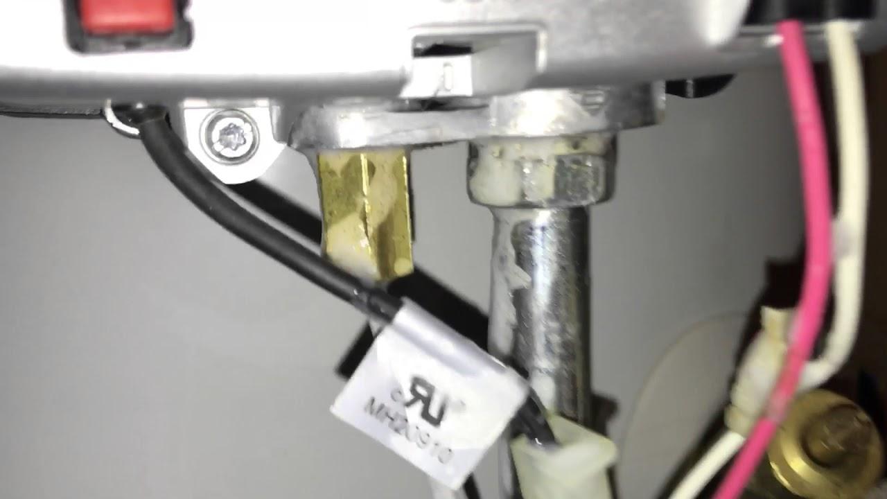 medium resolution of bradford white water heater pilot gas line making noise