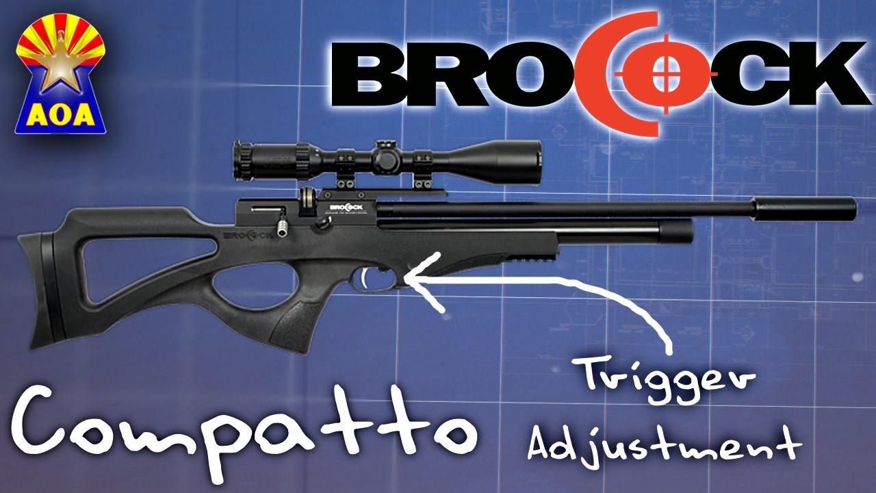 Brocock Compatto Trigger Adjustment