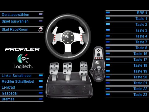 22dd2583f90 Howto G25/G27 - wird falsch/nicht erkannt Logitech Driving Force GT -  Windows 7 / 8.1 / 10 - YouTube