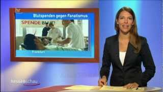 Ahmadi Muslime Khuddams - Blutspende - Bericht der Hessenschau über Islam Ahmadiyya