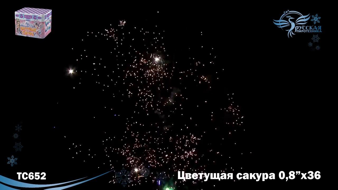 Фейерверк Тысяча хризантем на 150 выстрелов 01722 - YouTube