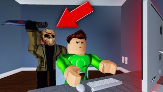 The BEAST Was Right BEHIND ME! (Roblox Flee The Facility)