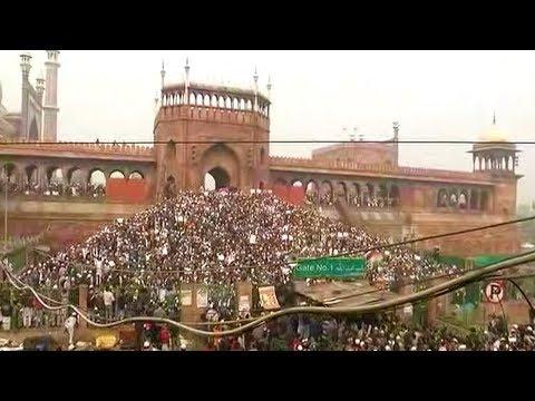 Protest At Delhi's