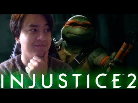 Thumbnail: Injustice 2 FIGHTER PACK 3 REACTION (TMNT, Enchantress and Atom)
