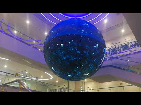 Led Ball P4 indoor led globe digital LED sphere display screen