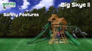 Big Skye Ii Swing Set By Gorilla Playsets - Swingsetmall.com