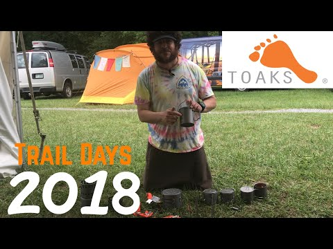 Trail Days 2018 Gear Vendors ~ Toaks Outdoors