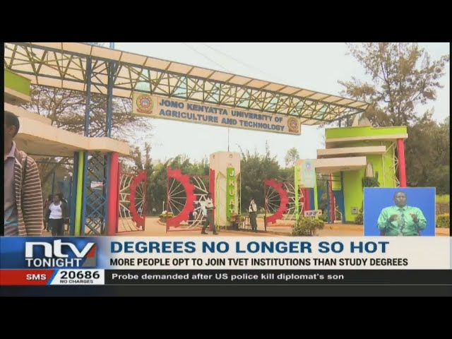 More Kenyan students opt for technical courses than university degrees