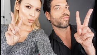 Rob Scheppy Does My Makeup!