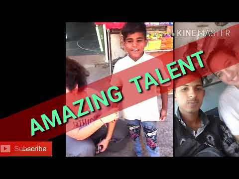 Ten years old rajasthani boy speaking Israel language very smarter boy