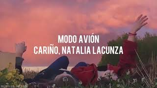 Modo Avión - Cariño, Natalia Lacunza | Letra
