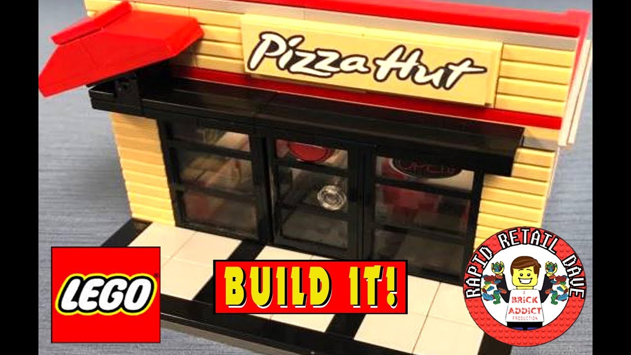 DETAILED LEGO PIZZA HUT