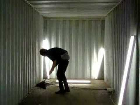 Container cleaning