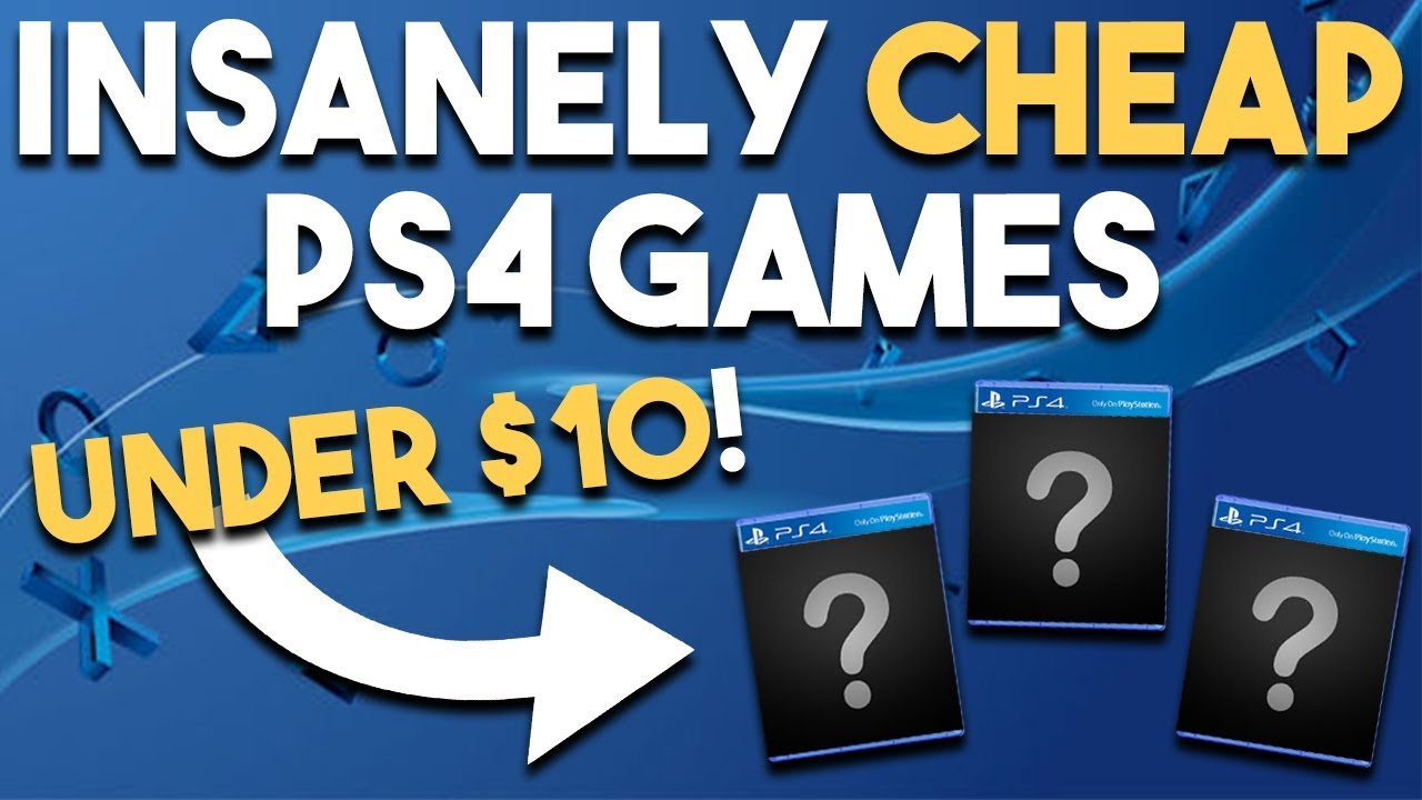 10 AMAZING PS4 PSN Game Deals UNDER $10 RIGHT NOW (Best Playstation 4 Games  Deals PSN Pax Sale)