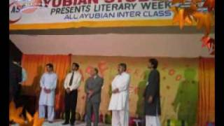 ASF - Literary Week 2008 (Ayub Medical College)