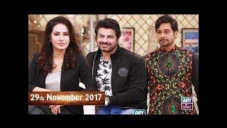 Salam Zindagi With Faysal Qureshi - Hajra khan & Sohail Sameer - 29th November 2017