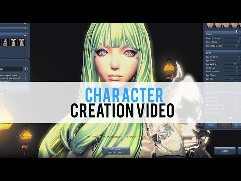 Blade and Soul Character Creation - First Look HD