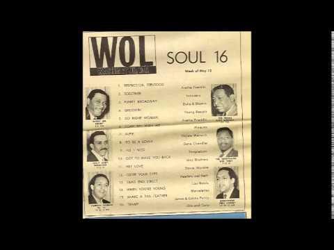 """Sunny Jim Kelsey  """"WOL"""" 1450 AM Washington DC  (1968)"""