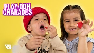 Jonathan & Sienna Stopped By To Play Our New Segment Play-Doh Charades