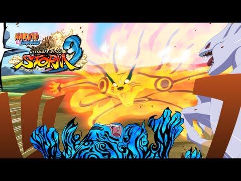Naruto Shippuden: Ultimate Ninja Storm 3: Bijuu Mode Naruto LQ Scan