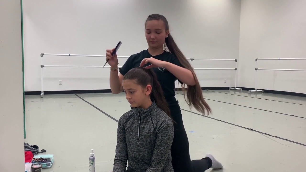 How to do a ballet bun with Miss Maggie