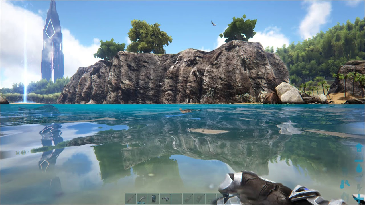 Island Map For Ark