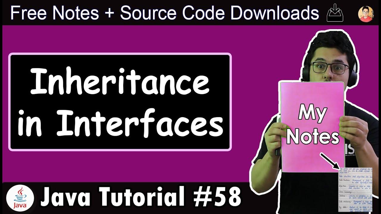 Inheritance in Interfaces