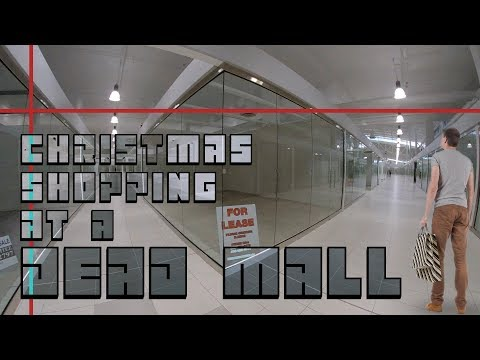 Christmas Shopping at a Dead Mall: New Horizon Mall Calgary  - Best Edmonton Mall