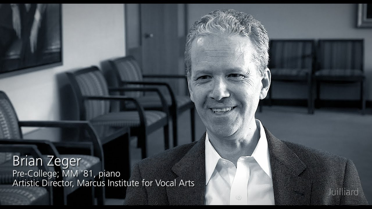 Juilliard Snapshot: Brian Zeger on Alumni Connections