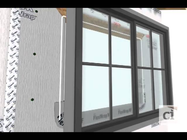 Install StraightFlash™ Jamb Flashing and Window | DuPont™ Tyvek®