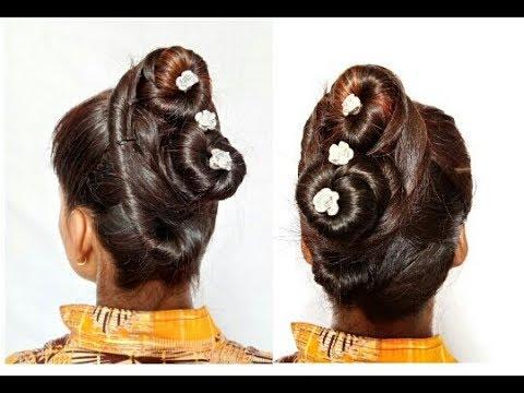 Hair Style Girllatest Hairstyles For Short Hair Juda Bun Hair