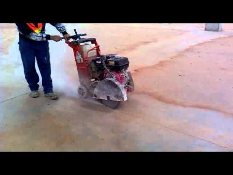 Corte de juntas piso de concreto youtube for Corte de pavimentos de hormigon