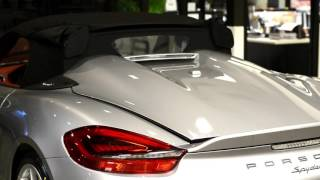 2016 Boxster Spyder roof opening procedure