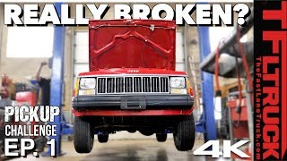 Did We Make a Mistake Buying THIS 1989 Cheap Jeep Comanche? | Cheap Jeep Challenge S2 Ep. 1