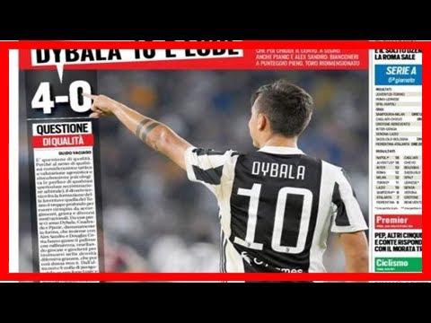 [NEWS 24h] Juventus: dybala makes headlines with 10 goals in 6 serie a games